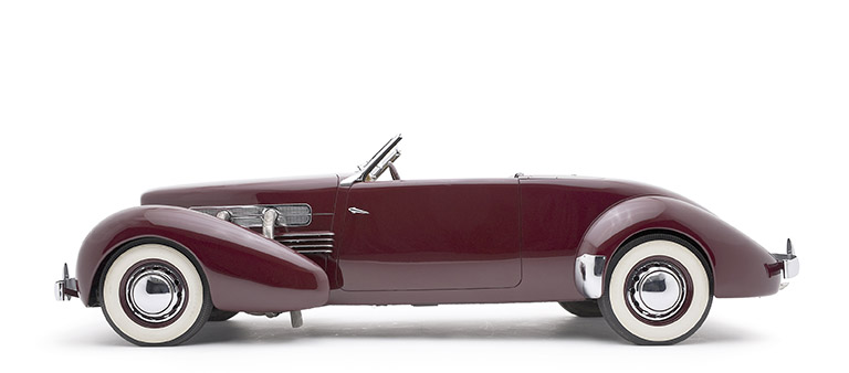 1937 Cord 812 Supercharged Phaeton Convertible VIN 32317F