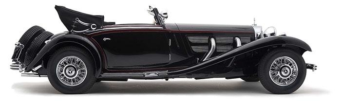 1936 Mercedes 540K Special Cabriolet_VIN_13095