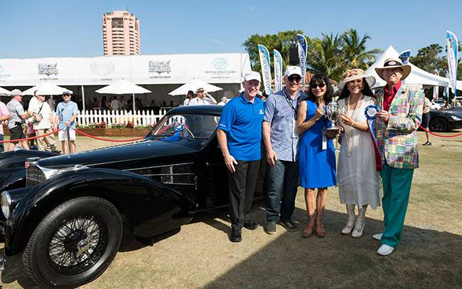 THE 14th ANNUAL BOCA RATON CONCOURS D'ELEGANCE